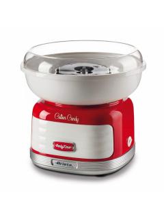 ARIETE 2973 Cotton Candy - červený přístroj na přípravu cukrové vaty