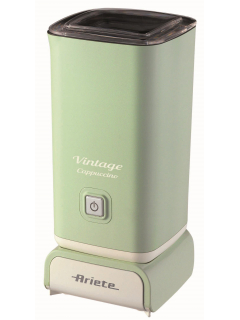 ARIETE 2878/04 Vintage Cappuccino - zelený zpěňovač mléka