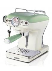 ARIETE 1389/14 Vintage Espresso - zelený kávovar